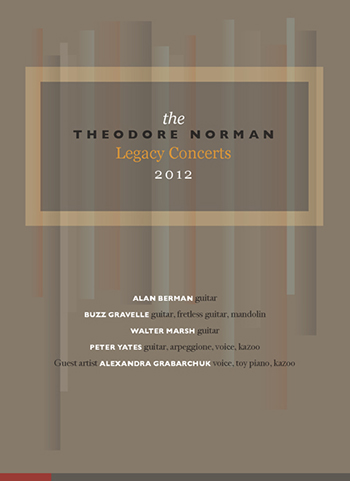 Norman Legacy Ensemble: Theodore Norman Legacy Concerts