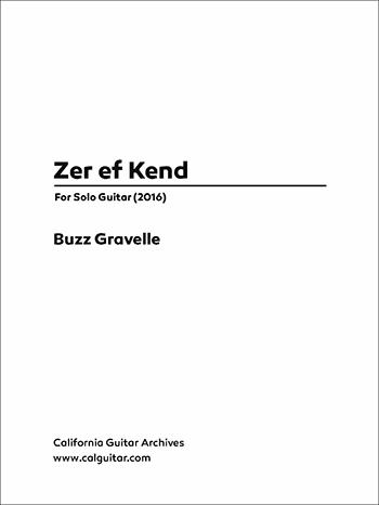 Buzz Gravelle: Zer ef Kend