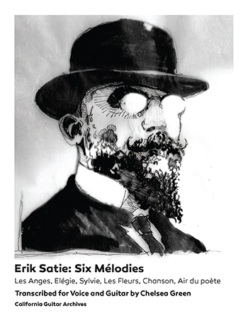 Erik Satie: Six Mélodies for Voice and Guitar