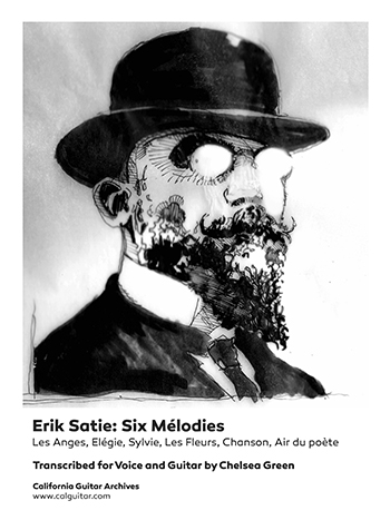 Erik Satie: Six Mélodies for Voice and Guitar
